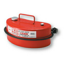 Meltec [大自工業] ガソリン携行缶 3L FK-03[FK03]