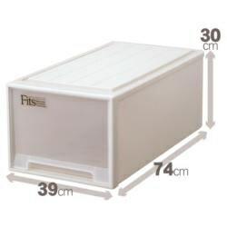フィッツケース ディープ カプチーノ ボックス