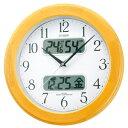 CITIZEN シチズン 電波掛け時計  ネムリーナカレンダーM04 4FYA04-006 【掛時計】