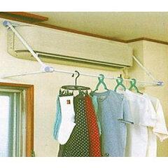 タダプラ 速乾ハンガー ホワイト取付簡単・エアコンに引っ掛けるだけ!