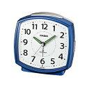 【送料無料】CASIO カシオ 電波置時計 目覚し時計TQ-740J-2JF [TQ740J2JF] ブルー