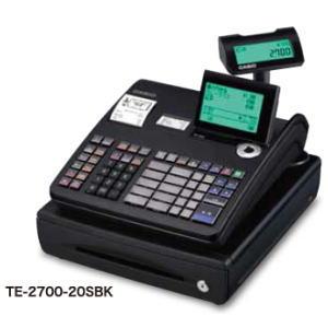 カシオ計算機 レジスター TE-2700-20SBK:アークランドショップ