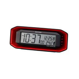 リズム時計 電波目覚時計 フィットウエーブバトル220 8RZ220SR01
