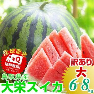 日本屈指のすいかの名産地!鳥取から食べ応え満点の甘ぁ〜いスイカをお届けします6月中旬頃より...