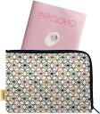 [Poitto。] 母子手帳ケース 麻の葉 コンパクト かわいい スッキリ収納 お薬手帳 日本製