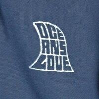 (オーシャンズラブ)OCEAN'SLOVE【ユニセックス】アロアヘビーウェイトZIPパーカーcolor=ネイビーNPO法人ボランティアサーフィンおしゃれ