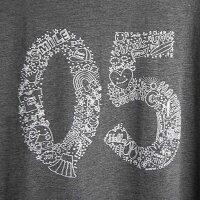 (オーシャンズラブ)OCEAN'SLOVE【レディース】05柄長袖ドルマンスリーブTシャツcolor=グレーNPO法人ボランティアサーフィンおしゃれ