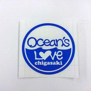 (オーシャンズラブ)OCEAN'S LOVEカッティングステッカー11