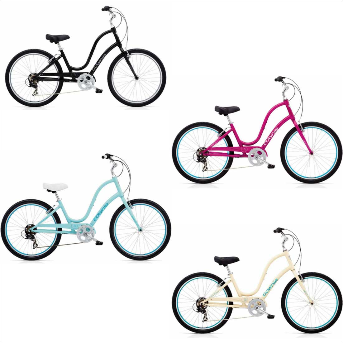 自転車・サイクリング, ビーチクルーザー  ELECTRA MY20-TOWNIE-7D-EQ-Step-Thru 26