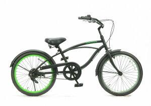 【湘南鵠沼海岸発信】ジュニア用ビーチクルーザー《FEELING OF DECKS 20inch》子供用自転車 20インチ