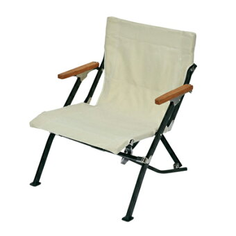 SNOWPEAK【ローチェアショートアイボリー】スノーピーク椅子