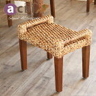 アジアン家具 スツール チーク 無垢 木製 おしゃれ 椅子