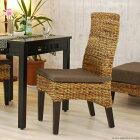アジアン家具 インテリア 安い バナナリーフ ダイニングチェア 椅子