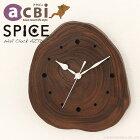 アジアン家具 インテリア 安い 時計 壁掛け ウォールクロック チーク 無垢 木製 おしゃれ 収納