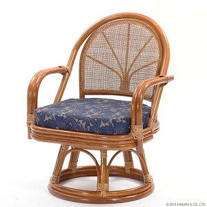 【あす楽】籐回転座椅子ハイタイプC712HRE1背クッション無し【回転座椅子イスチェア和座椅子ラタンチェアリラックス椅子アジアン激安イスチェア【楽ギフ_のし宛書】【楽ギフ_メッセ】CT14