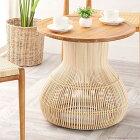 アジアン家具 チーク 無垢 木製 サイドテーブル ローテーブル