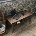 T256KAアジアン家具 インテリア 安い センターテーブル ローテーブル チーク 無垢 木製 収納 北欧 ミッドセンチュリー