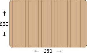 ウッドカーペット団地間6帖243×345cmオーク材使用の高品質ウッドカーペット和室も敷くだけで憧れのフローリングに♪【引越・ひとり暮らし・新生活応援セール】