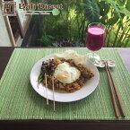 アジアン雑貨 ランチョンマット おしゃれ アジアン 雑貨 バリ グリーン 緑色 ランチマット キッチン雑貨 ダイニング テーブルランナー テーブルマット1枚 Z190323F Bali Direct
