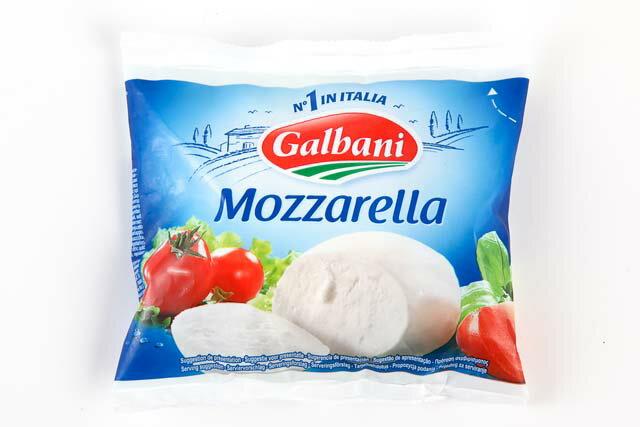 ガルバーニ モッツァレラ 125g《空輸品》 モッツアレラチーズ  フレッシュ モッツァレラ バッカ 
