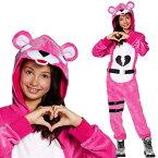 フォートナイト コスプレ ピンクのくまちゃん 子供用 コスチューム 服 グッズ スキン 公式 Fortnite