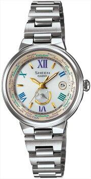 送料無料!カシオCASIOSHEENRef:SHW-1509D-7A3JFレディース腕時計新品人気2014年12月発売