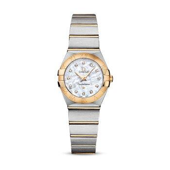 送料無料!【OMEGA/オメガ】コンステレーションRef:123.20.24.60.55.002レディース腕時計新品人気