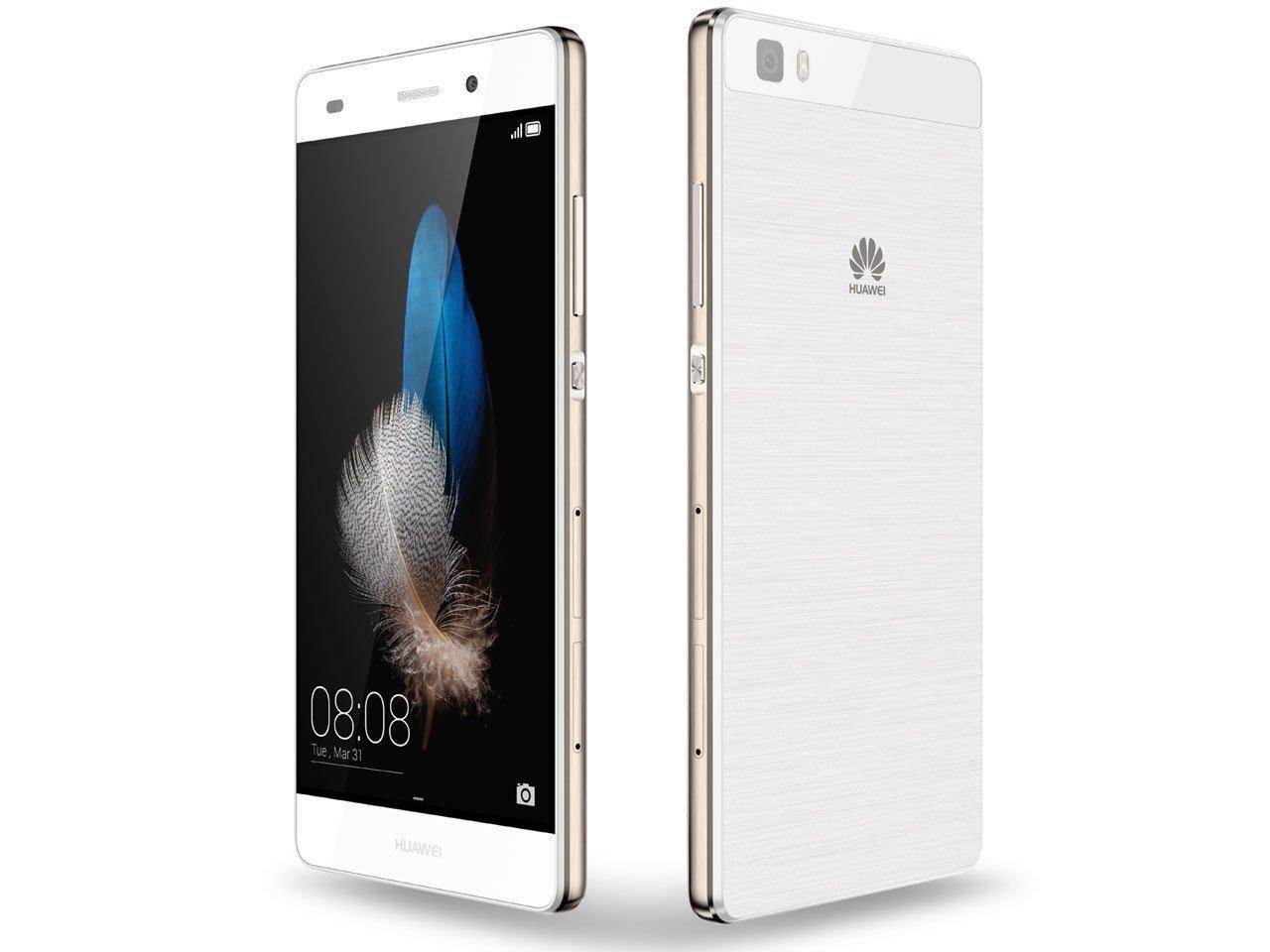 [B級品][開封品 外箱多少キズ有]【送料無料】[Huawei/ファーウェイ] SIMフリースマートフォン P8 lite 16GB (Android 5.0/オクタコア/5.0inch/nano SIM/microSIM/デュアルSIMスロット) ホワイト ALE-L02-WHITE