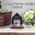 【送料無料】Petcoti(ペットコッティ)新しいカタチのペットのお墓ペット供養骨壷付き愛犬愛猫納骨コンパクトサイズ写真も飾れます化粧箱付き