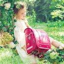 女の子 ロマンティック ランドセル 2021年モデル フィットちゃん 日本製 A4フラットファイル対応 クラリーノ 6年間保証 レース ティアラ おしゃれ かわいい 高級感 刺繍 6年生まで持てる 人気 LIRICO リリコの商品画像