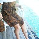 バティック ラップタオル ラップガウン ラップドレス ラップスカート サロンタオル スパ用タオル ビーチガウン ラップタオル batik アジアン バリ島