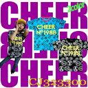 大人気のダンスブランドCHEER取扱開始です。メール便送料無料【CHEER JUNIOR】総柄 TEE CJ3233...