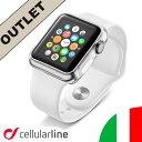 【アウトレット】 apple watch ケース カバー 42mm フィルム カバー applewatch 保護 セルラーライン Cellularline