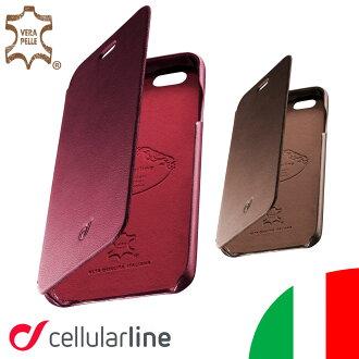 Ipone6s 皮革書類型案例真皮 iPhone 6 的 Ipone6 iPhone 6 豪華義大利海外外國品牌蜂窩電話線路 Ellularline | iPhone 案例 iPhone 蓋 smahocase smahocover 蓋皮夾子類型案例手冊 smahocase 智慧手機皮套