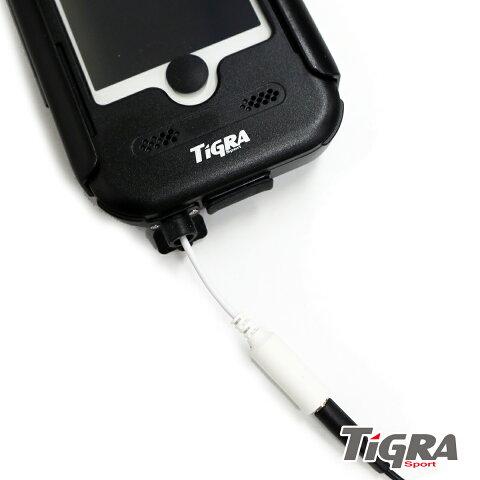 【TiGRASport】【BikeCONSOLEforiPhone専用】防水延長ケーブル【市販のイヤホン・ヘッドホン・スピーカーが接続可能に!】