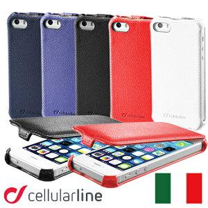 cellularli(セルラーライン)社製! iPhone5用レザーフラップケース縦開き二つ折りが登場。【最...