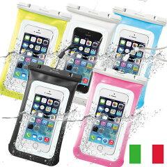 ヨーロッパで大人気の商品が登場♪ 防水 ケース iPhone 5 S C 6 Xperia Z L 1 2 F Galaxy Note ...