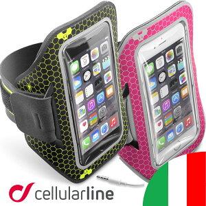 f9625c79d1 ランニング スマホ アームバンド 防水 iPhone7 アイフォン7 iPhone6s Xperia セルラーライン Cellularline  ARMBANDRUN?アイフォン
