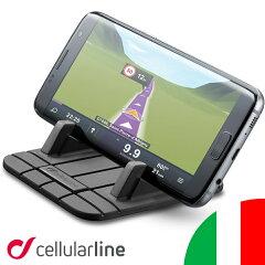 車載ホルダー iphone スマホ スマートフォン 車 スマホスタンド スマホホルダー 車載用 ホルダー スタンド 送料無料 ブランド セルラーライン Cellularline HANDY PAD| カー用品 携帯 携帯ホルダー アイフォン アイホン カーアクセサリー 車載スタンド 携帯スタンド
