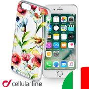 アイフォン スマホケース フラワー ブランド Cellularline セルラーライン アイホン