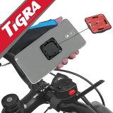 TiGRA Sport スマートフォン ホルダー 自転車 スマホ スマートフォンホルダー スマホホルダー Xperia エクスペリア Galaxy iPhone アイフォン サイコン アクションカム|携帯ホルダー 自転車ホルダー iPhone7 ロードバイク バイクホルダー スタンド スマホスタンド 全機種対応