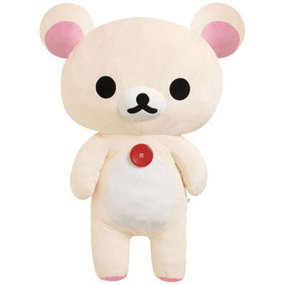 【Rilakkuma】 Stuffed plush toy / Extra large ( Korilakkuma )
