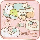【3/20以降〜出荷】【すみっコぐらし】プチタオル(クッション/ピンク)