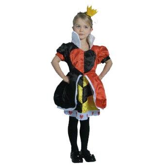 【Disney不思議の国のアリス】●ハートの女王/子供用★キャラクターコスチューム★