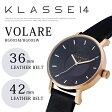 2サイズ在庫有!【KLASSE14】クラス14フォーティーン # VOLARE 36mm/42mm LEATHER BELT腕時計!RG005M/RG005W/ローズゴールド/入学祝い・卒業祝い・ペアウォッチ・プレゼント/ギフトにレザーベルト/36mm/レディース/腕時計/