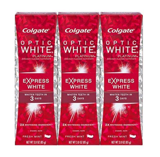 3本セット コルゲート エクスプレスホワイト 85g Colgate Optic White Express White Toothpaste