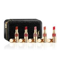 YSL イヴサンローラン ルージュ ヴォリュプテ シャイン リップ 5本セット ポーチ付き Rouge Volupté Shine Makeup Bag Holiday Set