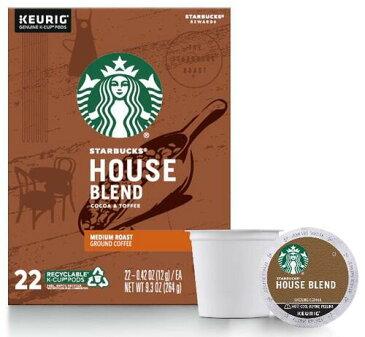 スターバックス ハウスブレンド44個(22×2箱)ミディアムロースト キューリグ kカップ K-CUP Starbucks House Blend Medium
