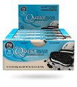 クエスト プロテインバー 【12本】クッキー&クリーム味 Quest Protein Bar Cookies & Cream その1