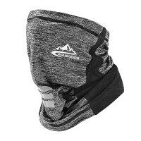 冷感マスク グレー フェイスカバー ネックガード 夏 UVカット ゴルフウエア おしゃれ 男女兼用 紫外線対策 REIMASU-GY